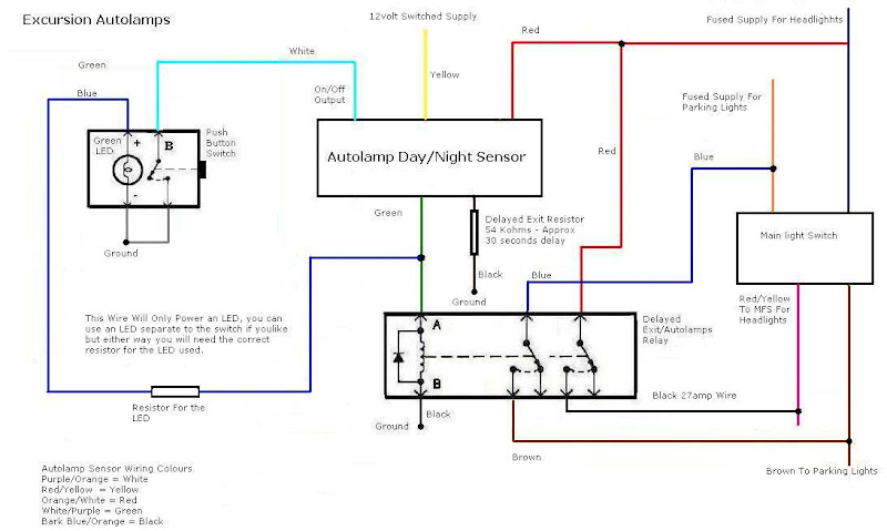 Autolamp1 auto lamp system retrofit for truck use ford trucks com Chevy Ignition Switch Wiring Diagram at bayanpartner.co