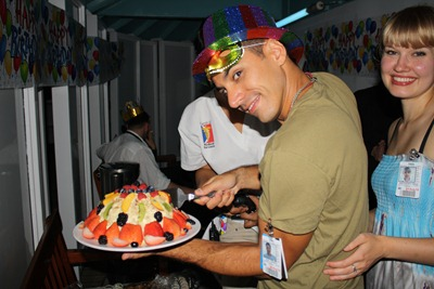 A partir o bolo