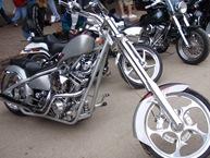 Esta não era Harley, mas tinha uma pinta do caraças!