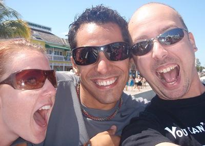 Reencontro dos Três Amigos! Só faltava a Nikki....