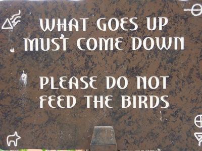 Mais sabedoria Bahamiana para vocemecês!