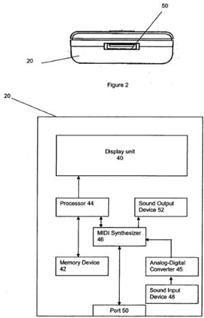 Instrument patent