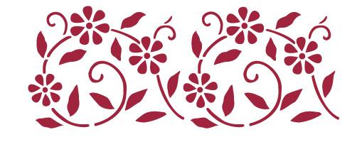 Plantillas para estarcir plantillas para decorar for Cenefas para dibujar