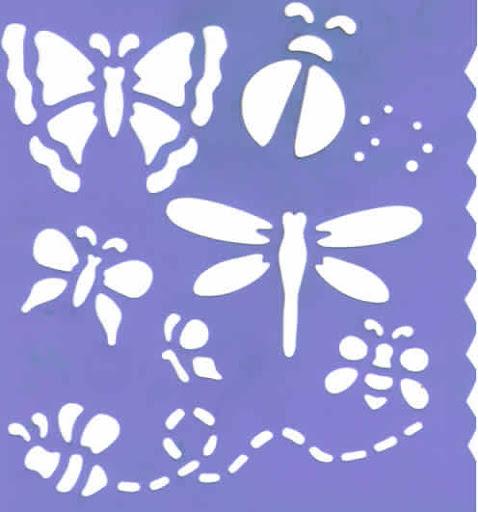 Plantillas para stencil de flores - Imagui