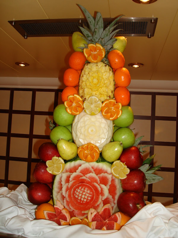 Экибана из овощей фото