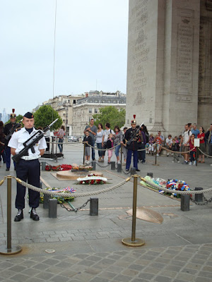 Tomb of the Unknown Soldier, Paris