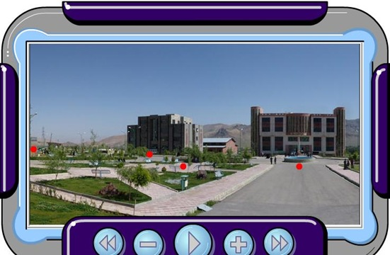 عکس های پانورامای 360 درجه از دانشگاه تفرش