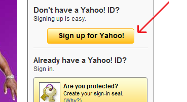    Sign up for Yahoo!  