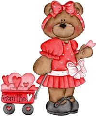 February Bear Girl