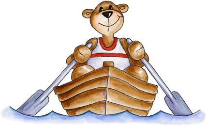 Rowing Bear