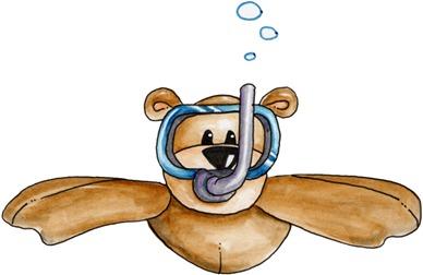 Snorkel Bear