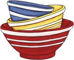 imagens decoupage clipart Bowls
