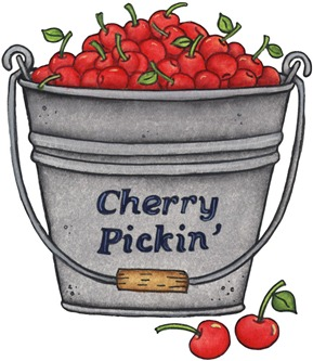 imagens decoupage clipart Cherry Picking
