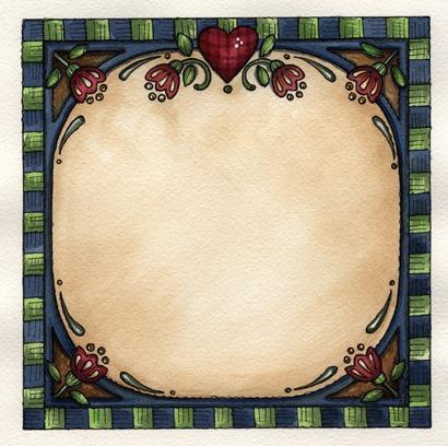 imagens decoupage clipart FR Hearts