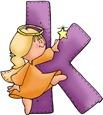 Angel Letter K