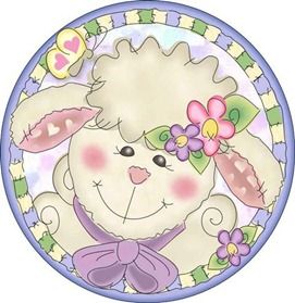 Loveable Lambs roundel1-727427