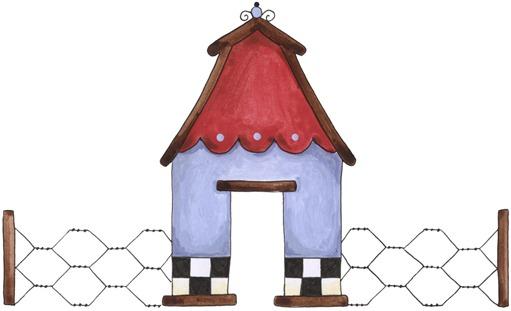 imagem de coupage clipart Barn Topper-779095