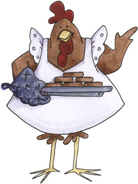 imagem de coupage clipart Chicken Serving01-730015