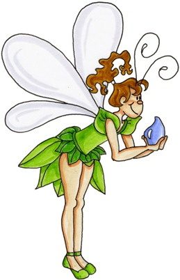 Fairy with Dew