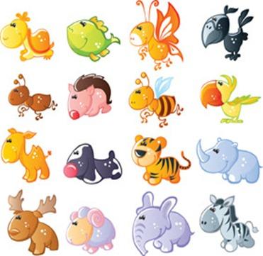 imagem decoupage clipart animais 1