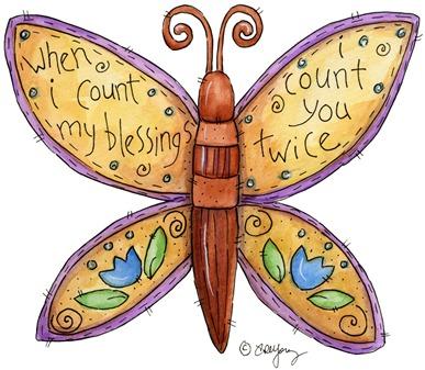 clipart imagem decoupage  Butterfly