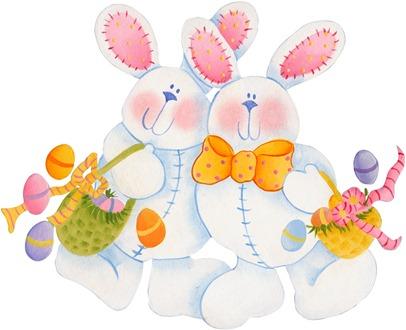 imagens decoupage clipart figura decoupage  Bunnies