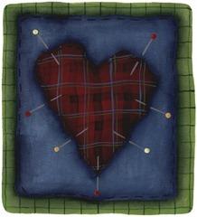 imagem decoupage clipart  Heart Patch