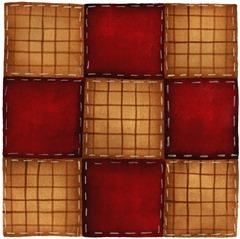 imagem decoupage clipart  Block Nine Patch