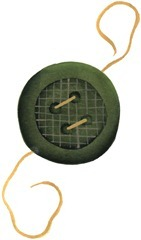 imagem decoupage clipart  Button