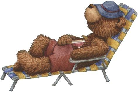 Lounge Chair Bear