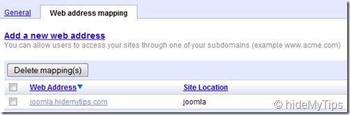 5_Web Address Mapping