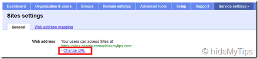 2_Creating a Custom Sites address for Your Domain's Google Apps Sites