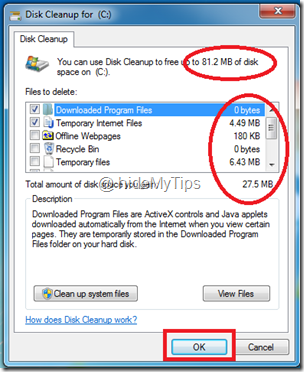 3_windows 7 disk cleanup