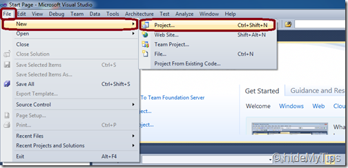 "Create ""Hello World"" C   Program in Windows Using Microsoft Visual Studio"