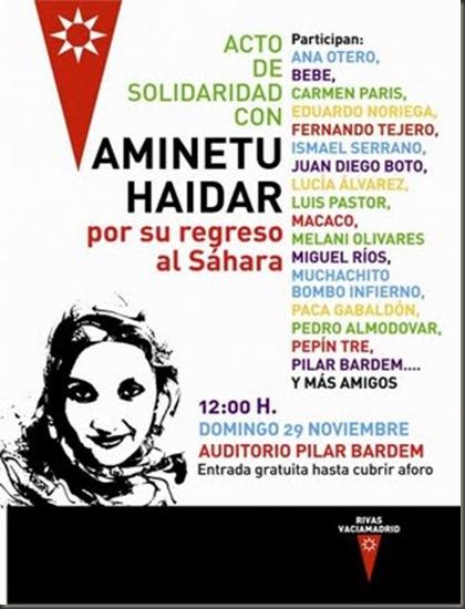 Concierto Aminetu Haidar