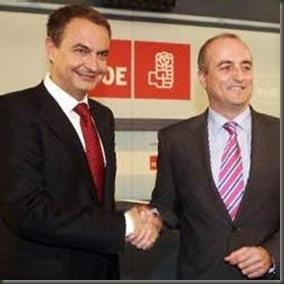 Sebastián y Zapatero