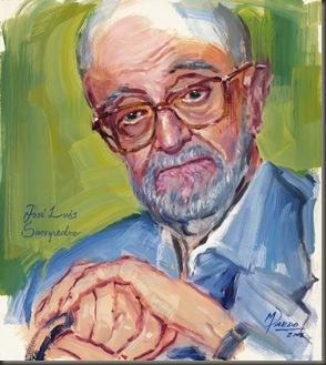 José Luís Sampedro, óleo-papel