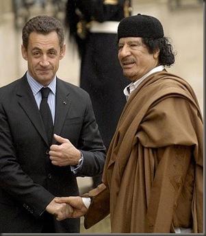 Gadafi Sarkozy