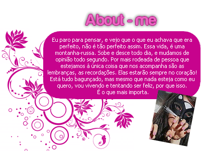 Blog de rafaelababy : ✿╰☆╮Ƹ̵̡Ӝ̵̨̄ƷTudo para orkut e msn, About's feminos