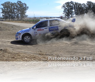 Nicolás Raies (Mitsubishi N/4) ganador de la 1ª etapa del 14º Rally de Jesús María / pistoneandoafull.blogspot.com