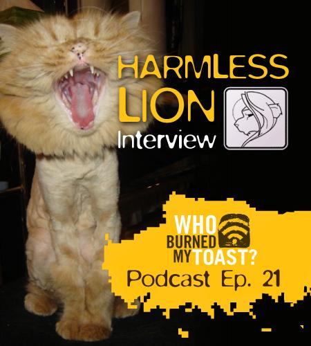 Harmless Lion