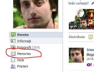 Facebook Function Memories