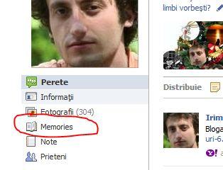 Facebook Function Memories