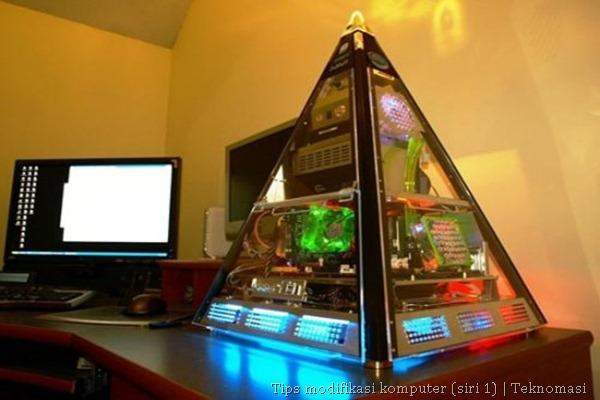 Contoh komputer yang dipasang sendiri
