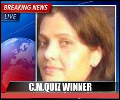 CM Quiz-6 winner - alp