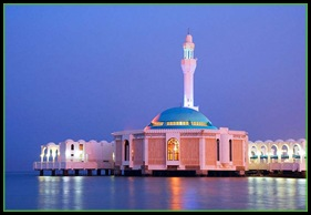 MOSQUE ON WATER, JEDDAH SAUDI ARABIA