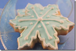 DAY 3: Tiffany Snowflake Cookies
