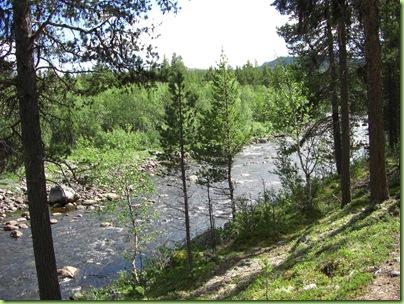 Tur til Vinsterfossen, Skåbu juni 09 001