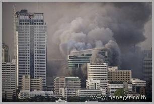 Bangkok burning
