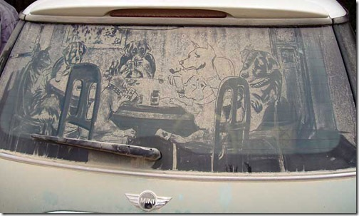 dirty car window drawings awesome3